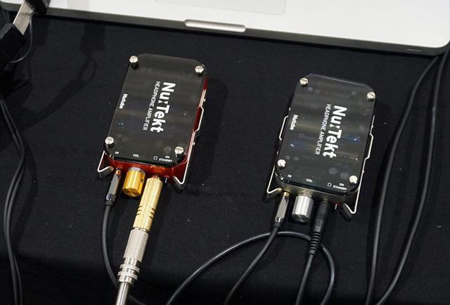 画像: コルグのNUTUBE製品や自作キットも並んでおり、特別価格で販売されていた