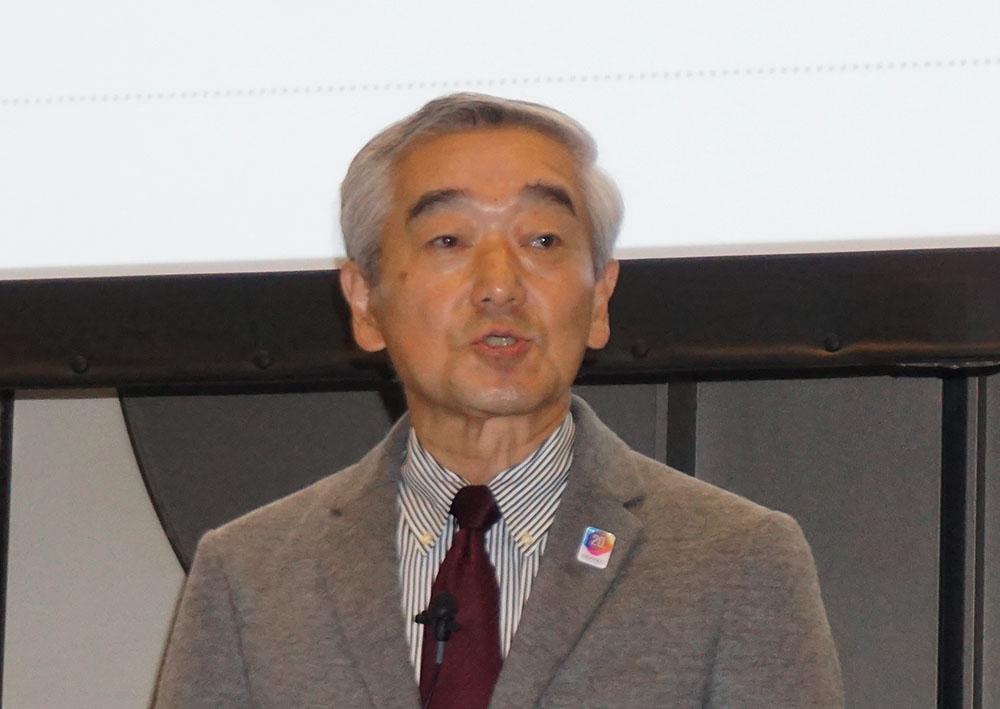 画像: CEATEC実施協議会エグゼクティブプロデューサー 鹿野 清氏