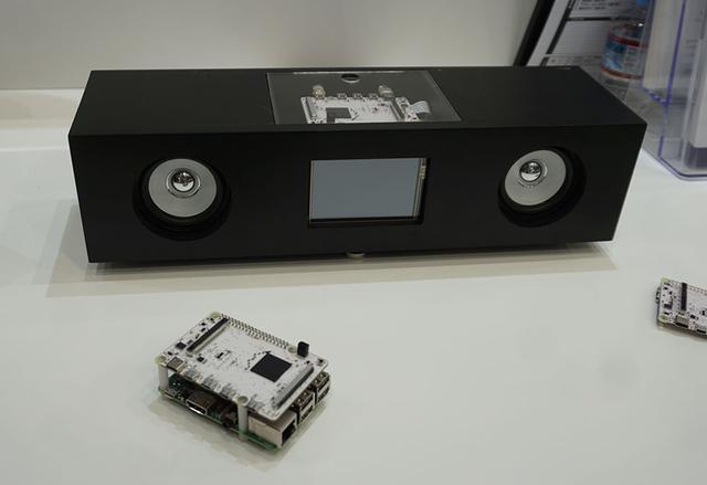 画像: 写真のように自作スピーカーなどと組み合わせてHDIMの機能を搭載できる
