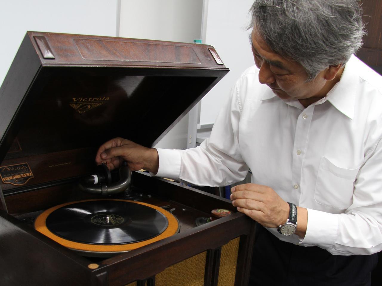 画像: 『管球王国』イベントでは蓄音機再生も