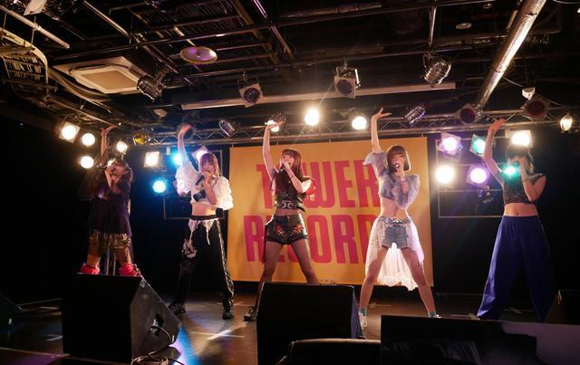 画像: ▲TECH LIVEのトライアルに協力してくれたアイドルグループ「ZOC」(大森靖子は欠席)。こちらはノーマルステージ