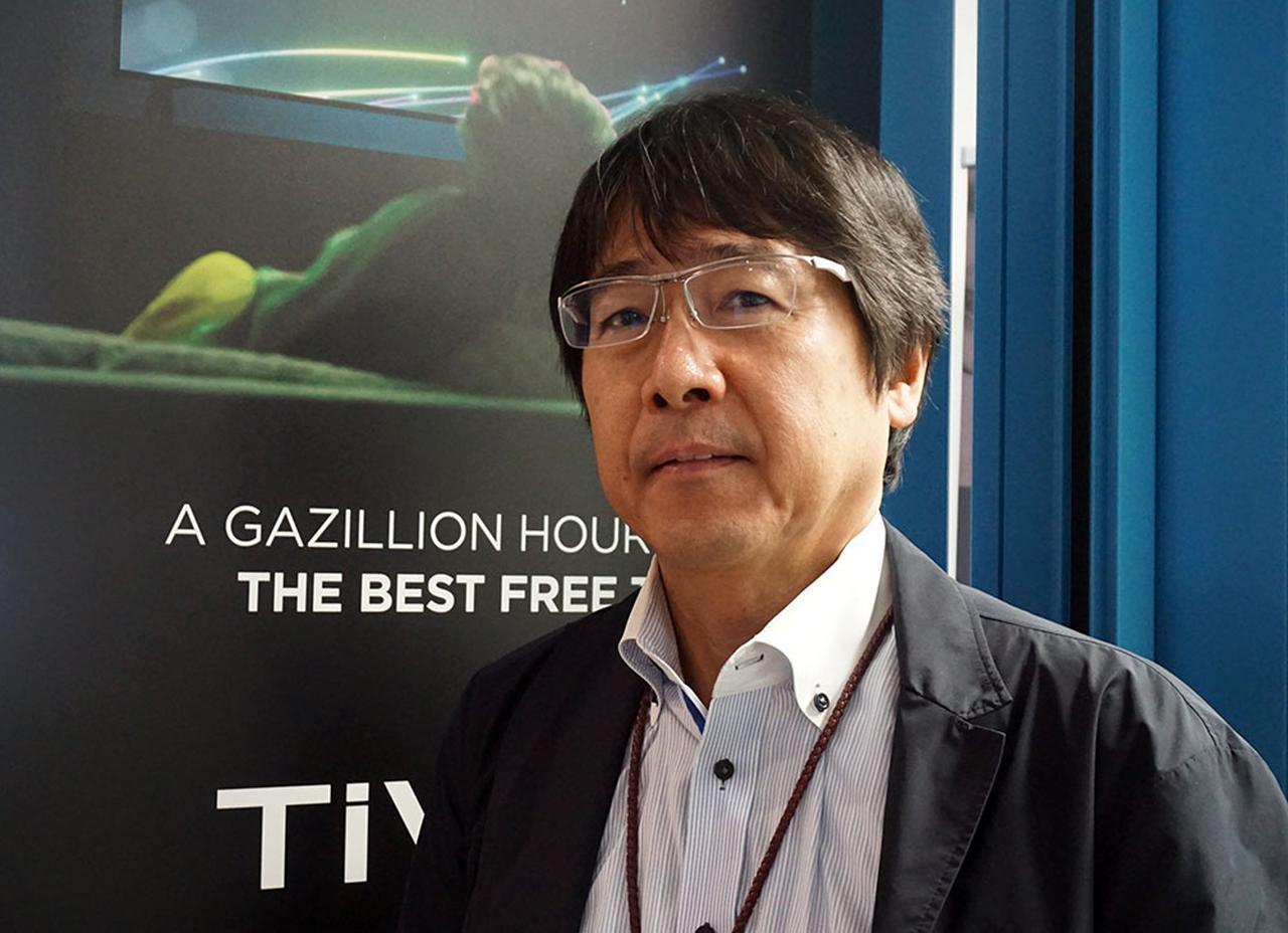 画像: 最新技術を説明してくれた、TiVo株式会社 代表取締役社長 日本担当シニアバイスプレジデントの西村明高さん