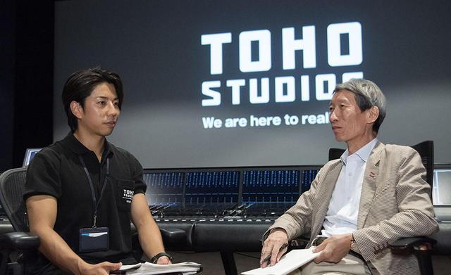 画像: 株式会社 東宝スタジオサービス 営業部の立松雄太郎さん。主に撮影ステージのブッキングや運営などを担当されているそうだ