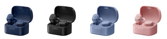 画像: JVC、小型で装着感もいい完全ワイヤレスイヤホン「HA-A10T」を11月上旬に発売。4色のカラーバリエーション