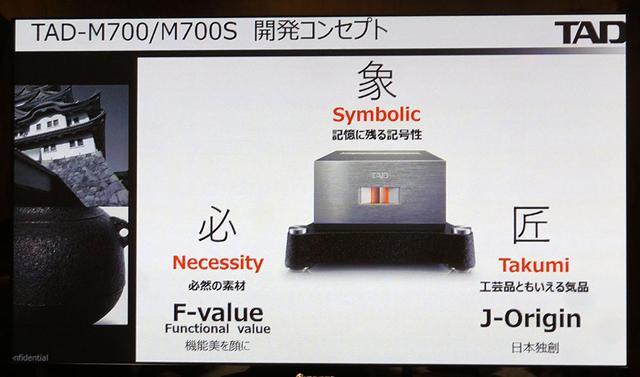 画像1: TAD、Referenceシリーズに、4年ぶりにパワーアンプが追加された。モノーラル機の「TAD-M700」とステレオモデルの「TAD-M700S」は12月上旬の登場予定
