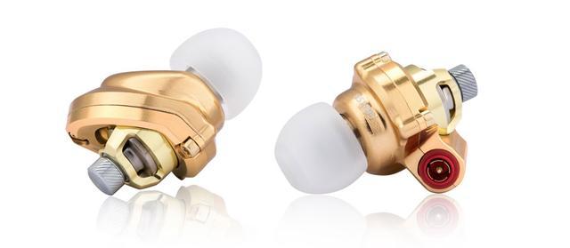 画像2: Acoustune、限定生産のイヤホン「HS1655 CU White」「HS1695TI Gold」を11月1日に発売。新型コネクターと特別ケーブルでサウンドをチューンアップ