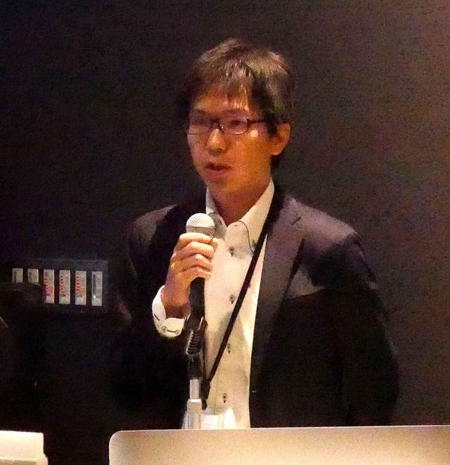 画像: NTTスマートコネクトの木村慶史氏