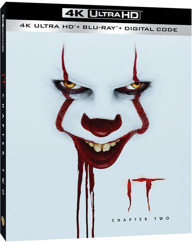 """画像: キング原作メガヒット・ホラーの続編『IT/イット THE END """"それ""""が見えたら、終わり。』【海外盤Blu-ray発売情報】"""