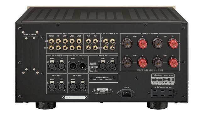 画像2: アキュフェーズの創立50周年記念モデル第一弾は、純A級プリメインアンプの「E-800」。定価¥980,000で、11月下旬の発売予定