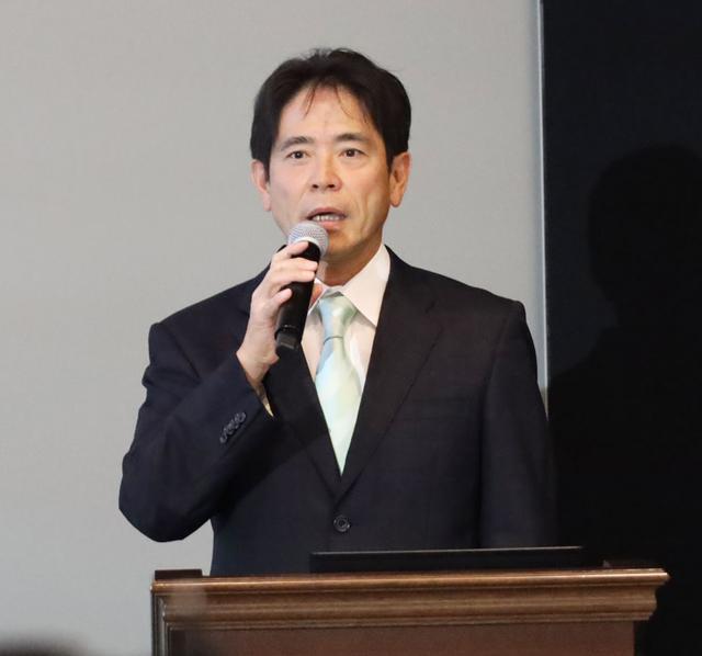 画像: スカパーJSAT 執行役員 メディア事業部門コンテンツ事業本部長の手塚氏
