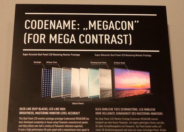 画像: 「MEGACON」ディスプレイの構造