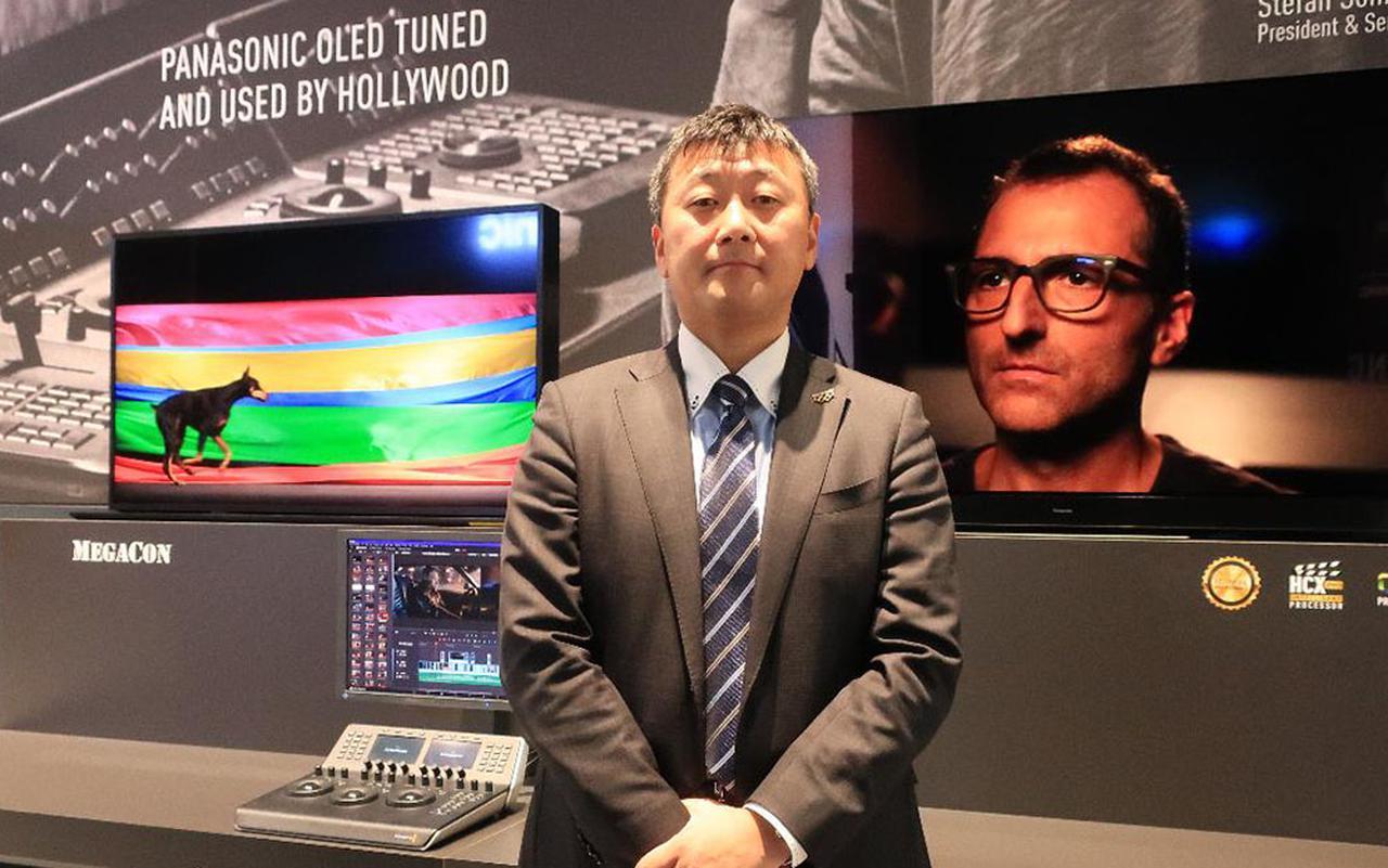 画像: インタビューにご協力いただいた、パナソニック アプライアンス社 スマートライフネットワーク事業部 ビジュアル・サウンド ビジネスユニット長の豊嶋 明さん