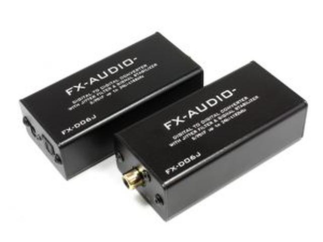 画像: ハイレゾ 24bit 192kHz 対応 S/PDIFインターフェースコンバーター FX-AUDIO-『FX-D06J』を新発売 | North Flat Japan(株式会社ノースフラットジャパン公式)