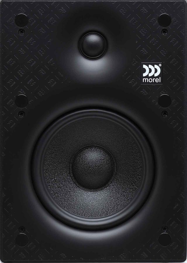 画像: VARIO X Bookshelfは、25mmソフトドームトゥイーター+165mmウーファーによるシンプルな2ウェイ機。トゥイーターは強力なネオジム磁石を搭載している。ユニット周辺は微妙なテーパーがつけられているが、不要な音の回析を減らし、位相特性を向上させる効果を狙ったものだろう