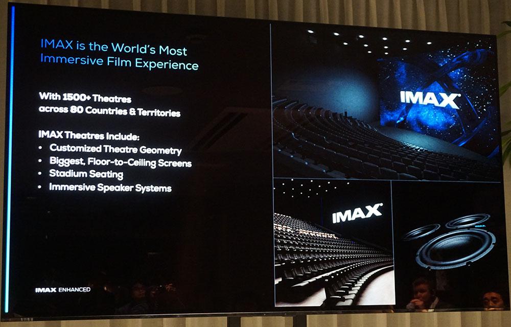 画像: IMAXの劇場システムは、全世界80の国や地域で採用されている