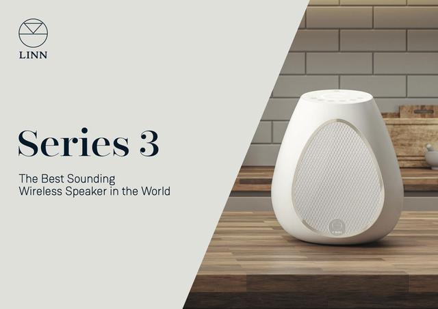 画像: リン初のワイヤレススピーカー「Series 3」が発表された。Wi-FiやBluetooth、HDMIからの再生が可能で、日本発売は2020年1月頃を予定。同社モデルの、Amazon Music HDへの対応も決定