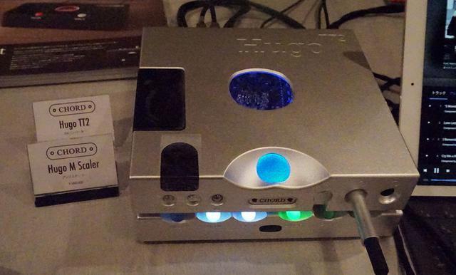 画像: CHORDの「Hugo M Scaler」(下段)と「Hugo TT2」(上段)