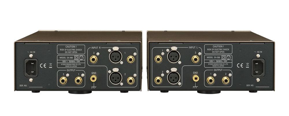 画像: フェーズメーション、オールディスクリート全段対称無帰還回路によるセパレート型フォノアンプ「EA-550」を12月上旬に発売
