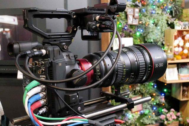 画像: ▲8Kセンサーを搭載したEFマウント対応の8Kカメラシステム。単板仕様だ