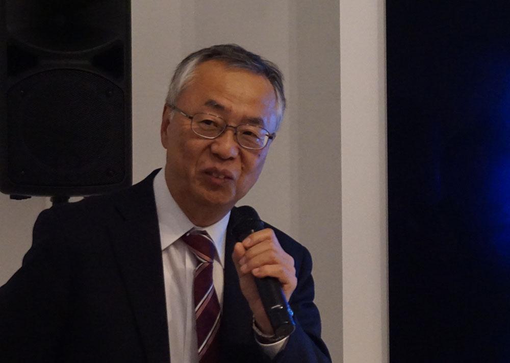 画像: 東芝映像ソリューション(株)取締役上席副社長の安木成次郎氏