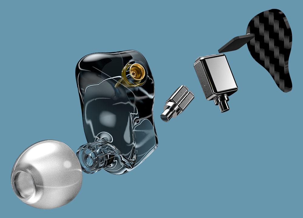 """画像: e☆イヤホン、11月18日の""""e☆イヤホン""""の日に、FiiOと共同開発したイヤホン「FA5e」を300台限定で発売。FiiO初の3BAドライバーモデル。価格は24900円"""