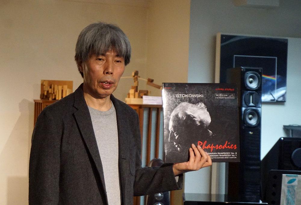 画像: ヤマハミュージックジャパン AV流通営業部マーケティング課の井上 誠治さん。レコードの蘊蓄はかなり深いです