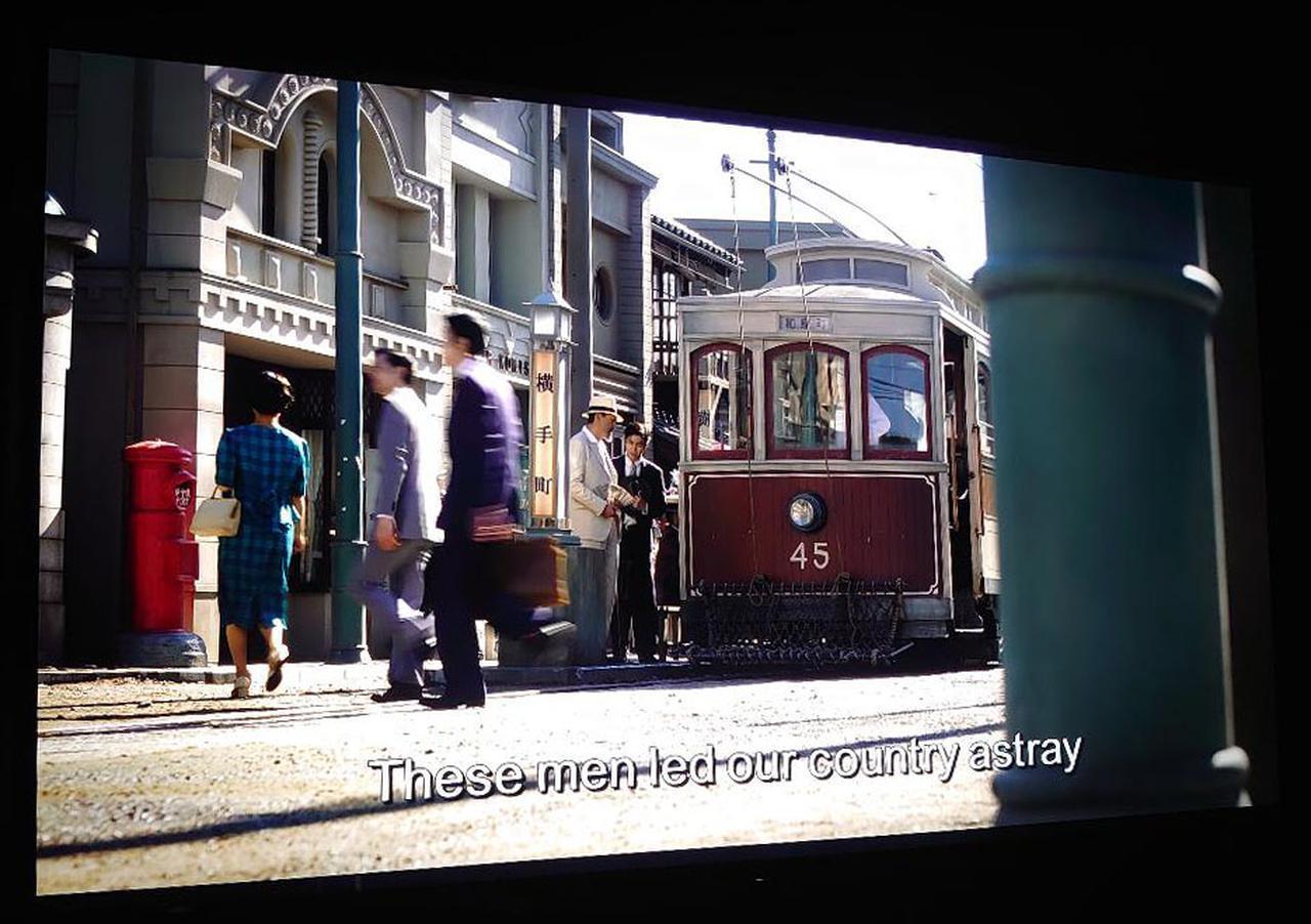 画像2: 【麻倉怜士のMIPCOM2019報告:02】MIPCOM2019で分かった8Kの最前線。8Kのドラマ進出。NHK『浮世の画家』
