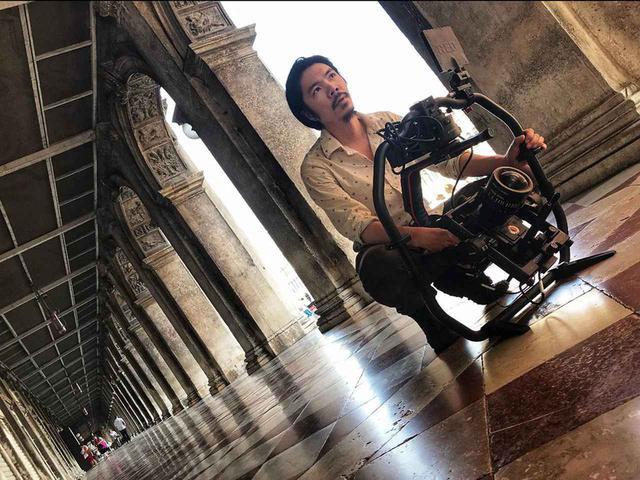 画像: ベネチアで8K撮影中のピーター・チャン監督