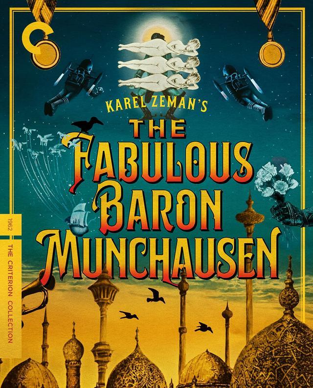 画像: ほら男爵の冒険/THE FABULOUS BARON MUNCHAUSEN 「ほら男爵」ことミュンヒハウゼン男爵の奇想天外な大冒険を描く。 原作は『バロン』のゴットフリート・ビュルガーの同名小説。