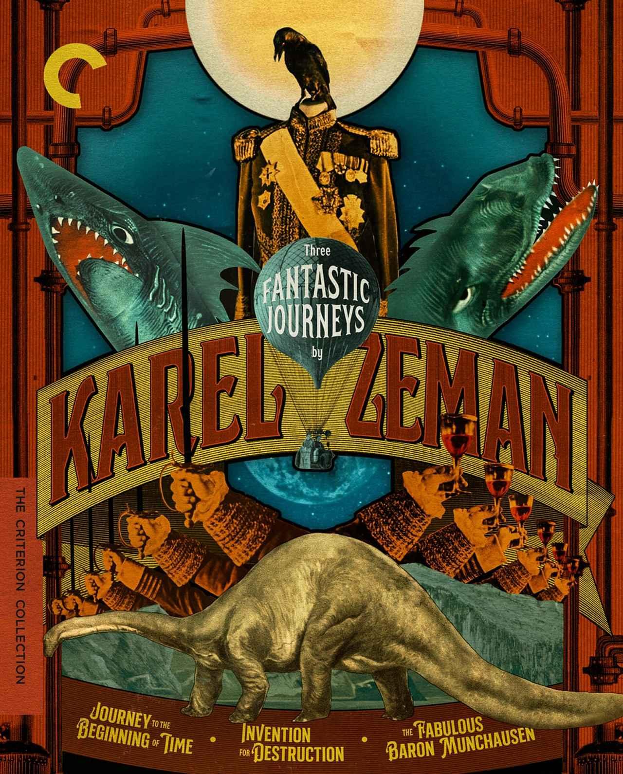 画像1: カレル・ゼマン監督作『前世紀探険』『悪魔の発明』『ほら男爵の冒険』【クライテリオンNEWリリース】