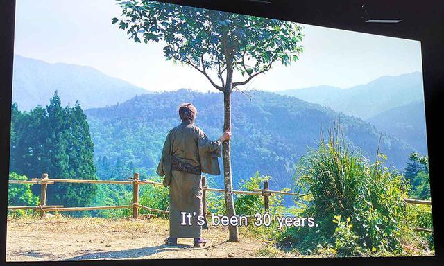 画像2: 【麻倉怜士のMIPCOM2019報告:03】MIPCOM2019で分かった8Kの最前線。8Kのドラマ進出。日本映画放送、8K時代劇『帰郷』