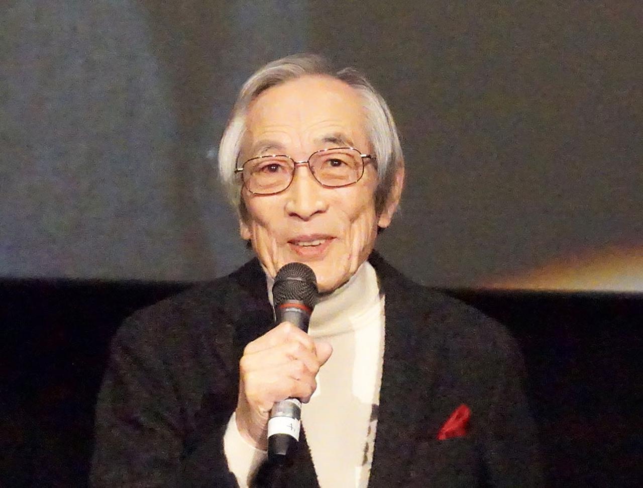 画像: 飯島敏宏監督も、撮影当時の苦労話をいろいろ聞かせてくれた