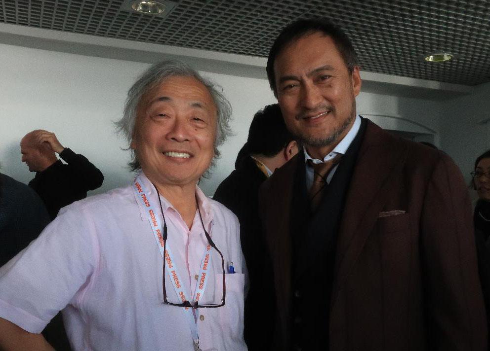 画像: 渡辺謙さんと麻倉さん