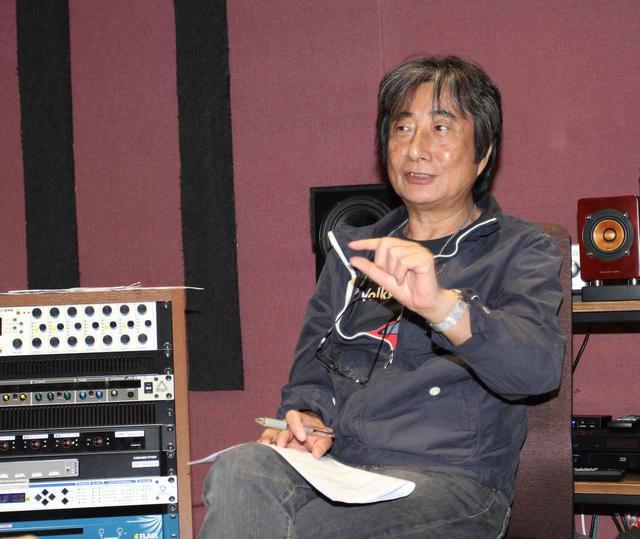 画像: 「岩崎宏美SACD/CDハイブリッド」シリーズのサウンド・スーパーバイザーを務める梅津達男氏