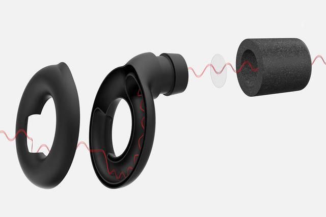 画像2: LOOP、スタイリッシュデザインのイヤープロテクター「LOOP」を11月下旬に発売。音質を変えず、音圧を20dB低減可能