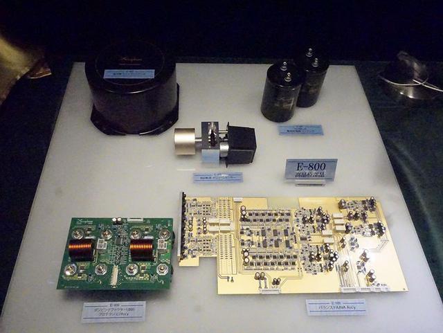 画像: E-800で使われている高音質パーツ