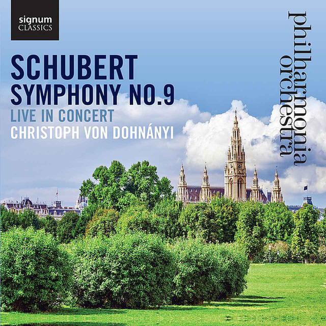 画像: シューベルト:交響曲第9番/フィルハーモニア管弦楽団&クリストフ・フォン・ドナホーニ