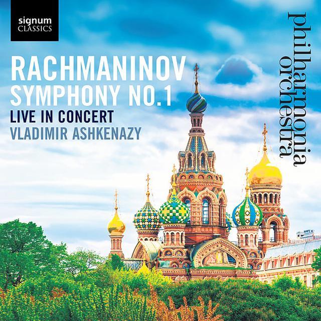画像: ラフマニノフ:交響曲 第1番/Philharmonia Orchestra, Vladimir Ashkenazy