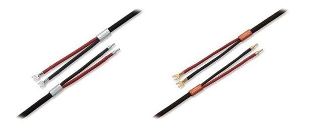 画像: スピーカーケーブル「Reference SPK-Black Premium」(写真・左)、「Reference SPK-Bronze Premium」