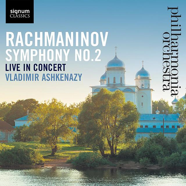 画像: ラフマニノフ:交響曲 第2番/Philharmonia Orchestra, Vladimir Ashkenazy