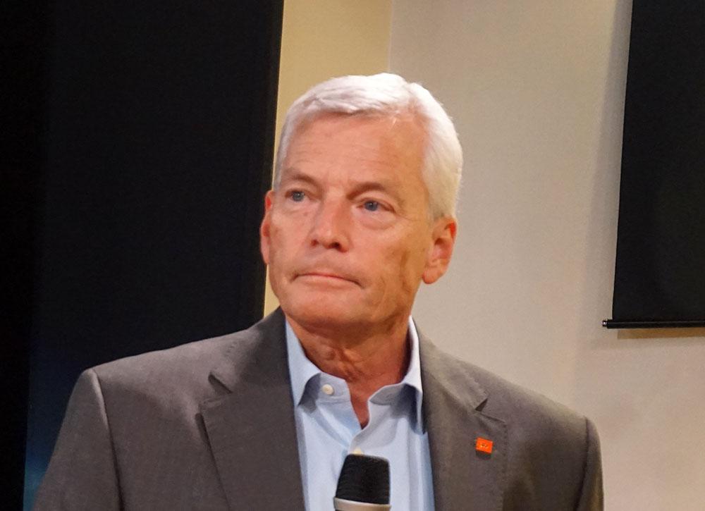 画像: ハーマンインターナショナル株式会社 代表取締役社長、トム・メッツガー氏