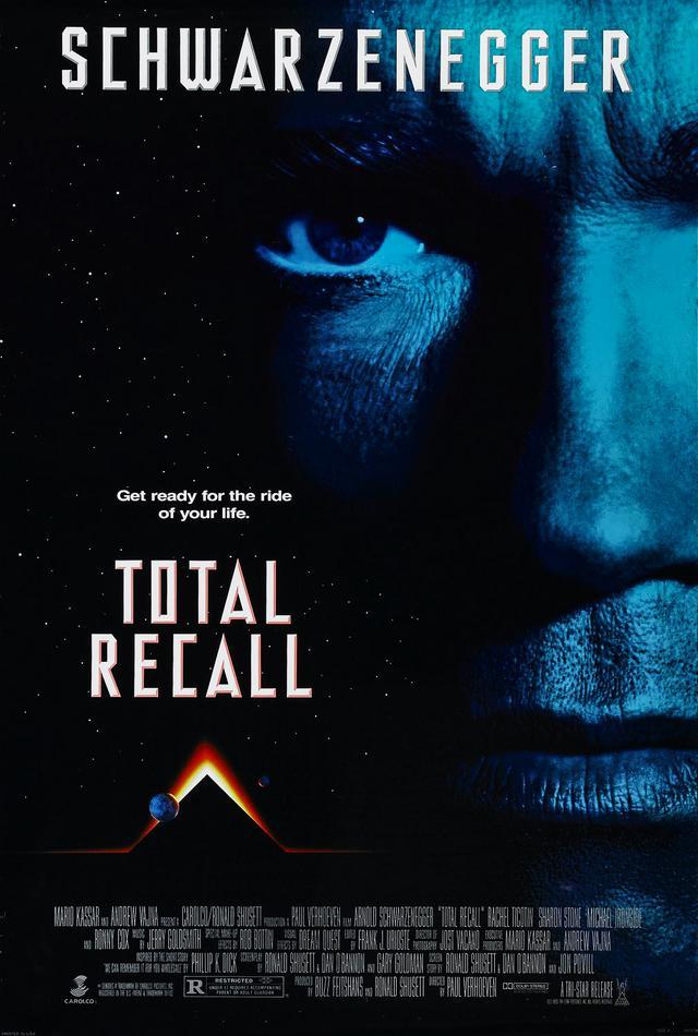 画像: トータル・リコール/TOTAL RECALL(1990) **** 監督ポール・ヴァーホーヴェン