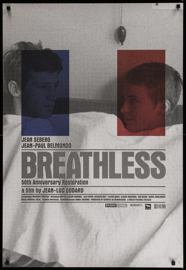 画像: 勝手にしやがれ/A BOUT DE SOUFFLE/BREATHLESS(1959) 監督ジャン=リュック・ゴダール