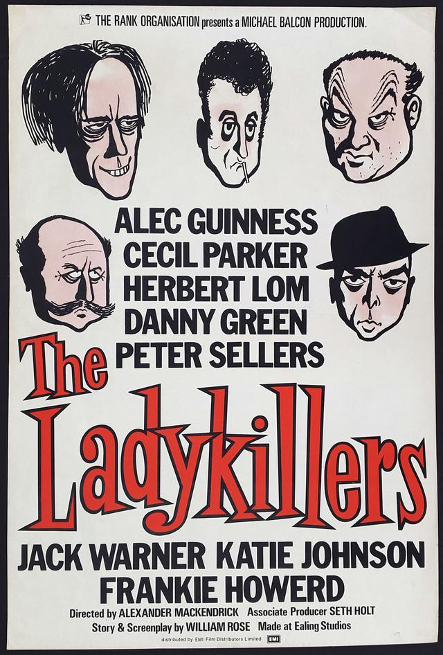 画像: マダムと泥棒/THE LADYKILLERS(1955) 監督アレクサンダー・マッケンドリック