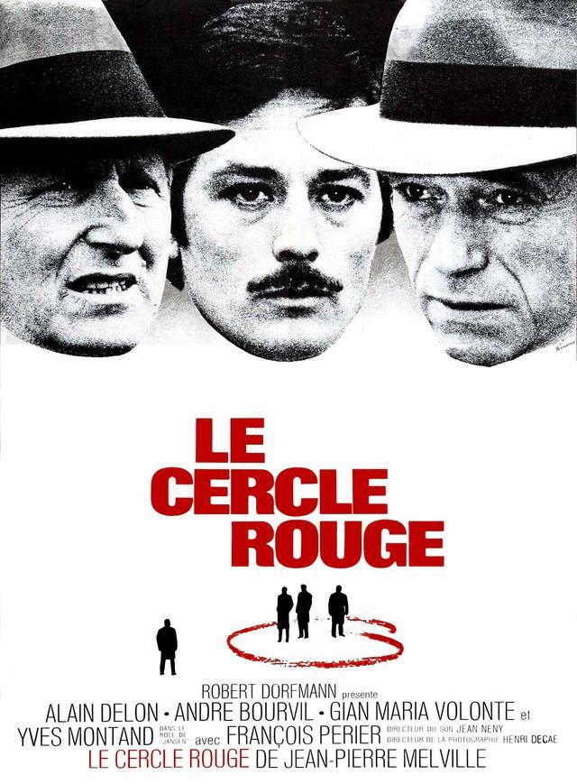 画像: 仁義/LE CERCLE ROUGE(1970) 監督ジャン=ピエール・メルヴィル