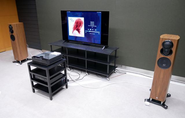 画像: ▲G603のシステム。メインスピーカーは「AKUBARIK PASSIVE」