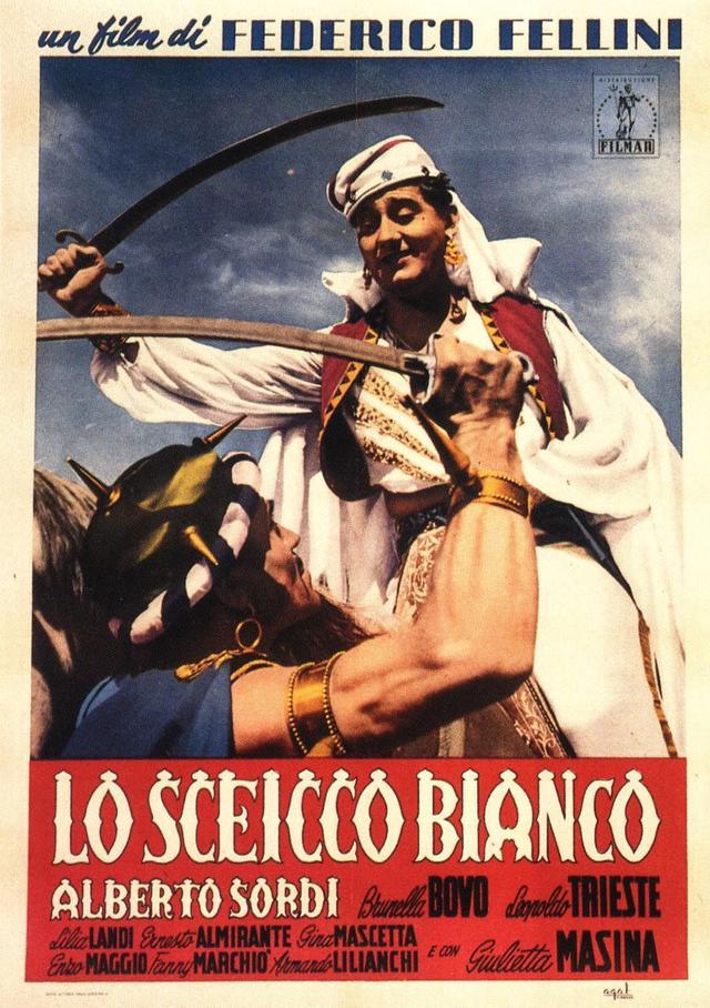 画像: 白い酋長/LO SCEICCO BIANCO/THE WHITE SHIEK(1952) 監督フェデリコ・フェリーニ