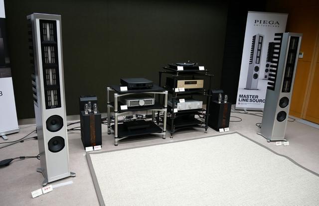 画像: ▲「Master Line Source 3」と「Jubilee 300 B」を組み合わせた試聴システム