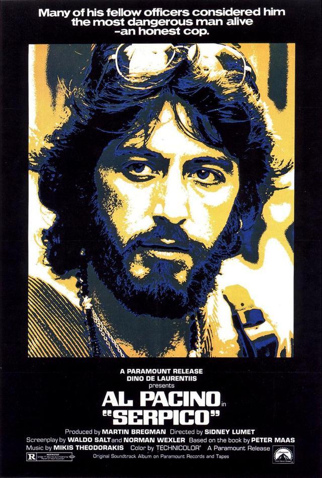 画像: セルピコ/SERPICO(1973) 監督シドニー・ルメット