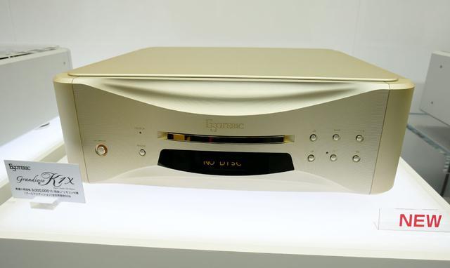画像: ▲SACD/CDプレーヤー「Grandioso K1X Gold Edition」